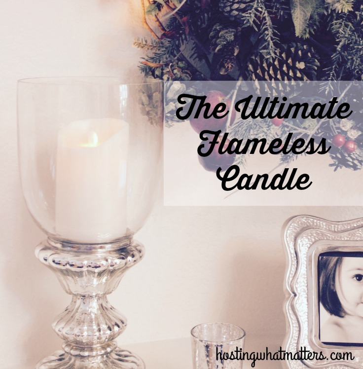 Product In Review:  The Ultimate Flameless Candle